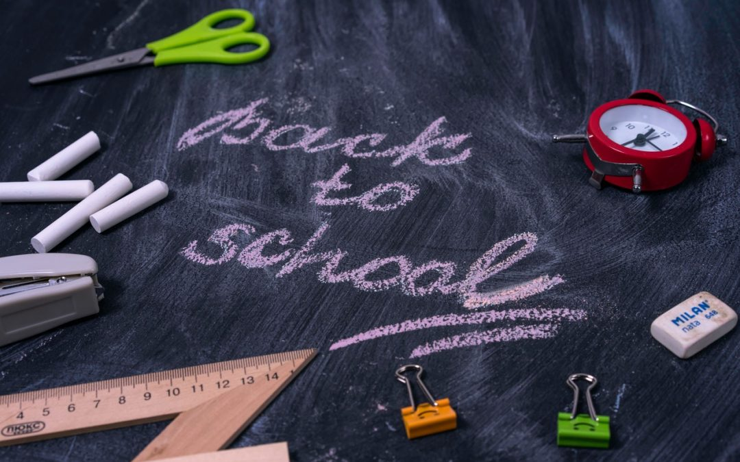 Moving Forward In 2021: Back To School